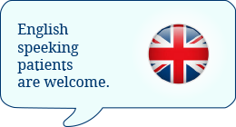 English speeking patients are welcome